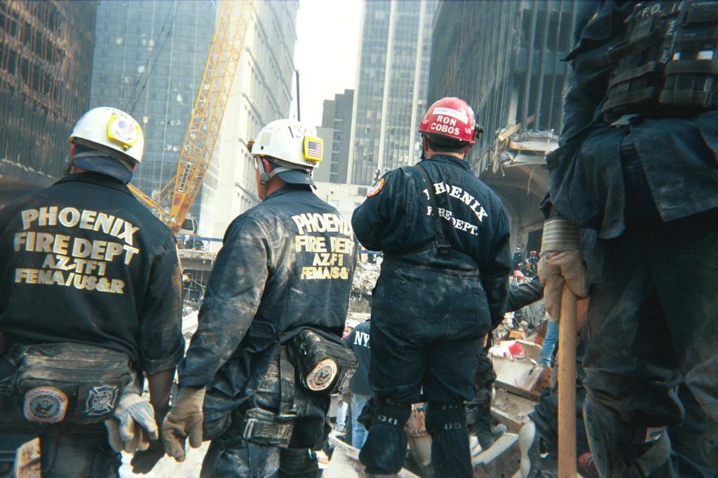 AZ-TF 1 in New York, Sept. 2001. (Source: Phoenix Fire Dept.)
