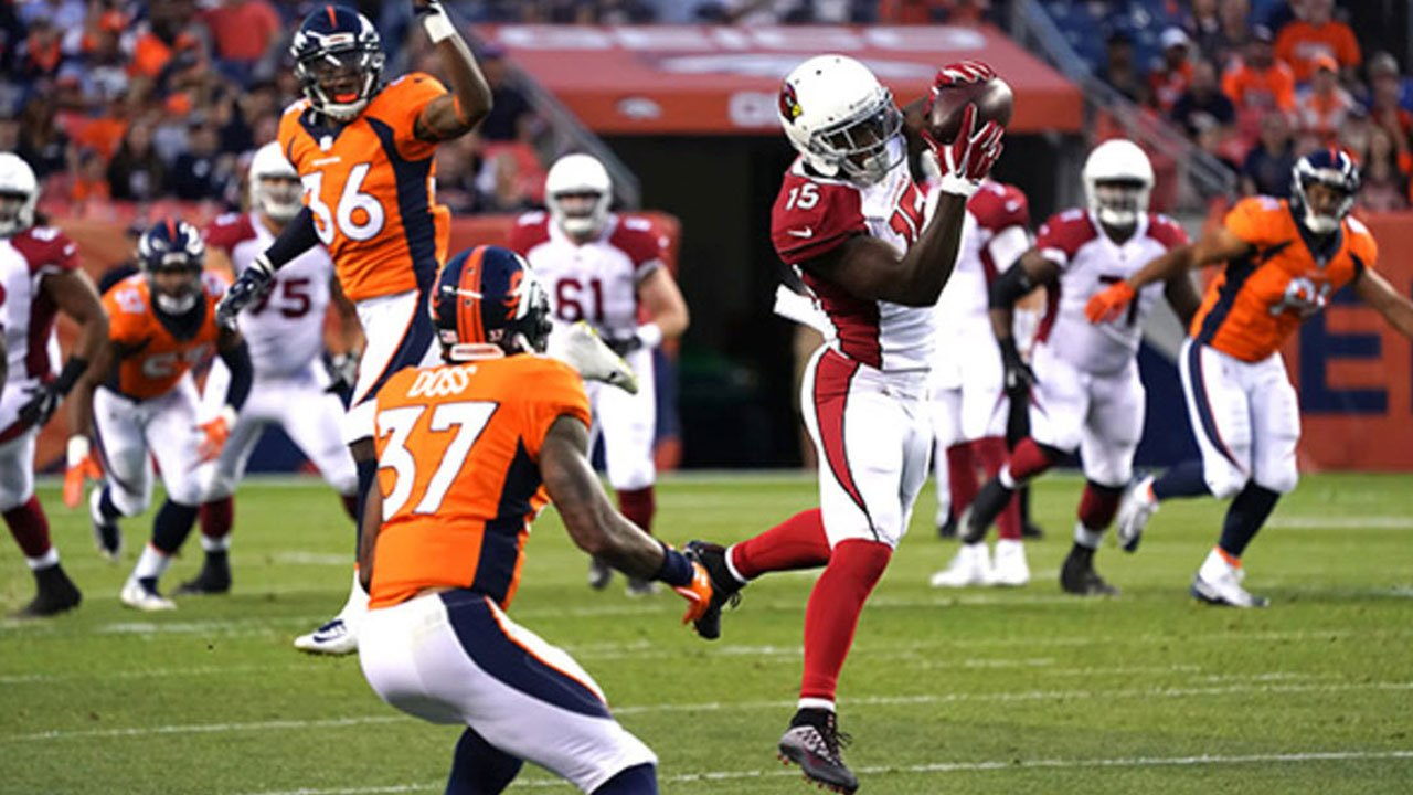 Wide receiver Jeremy Ross was among the players cut by the Cardinals this weekend. (Source: The Arizona Cardinals)