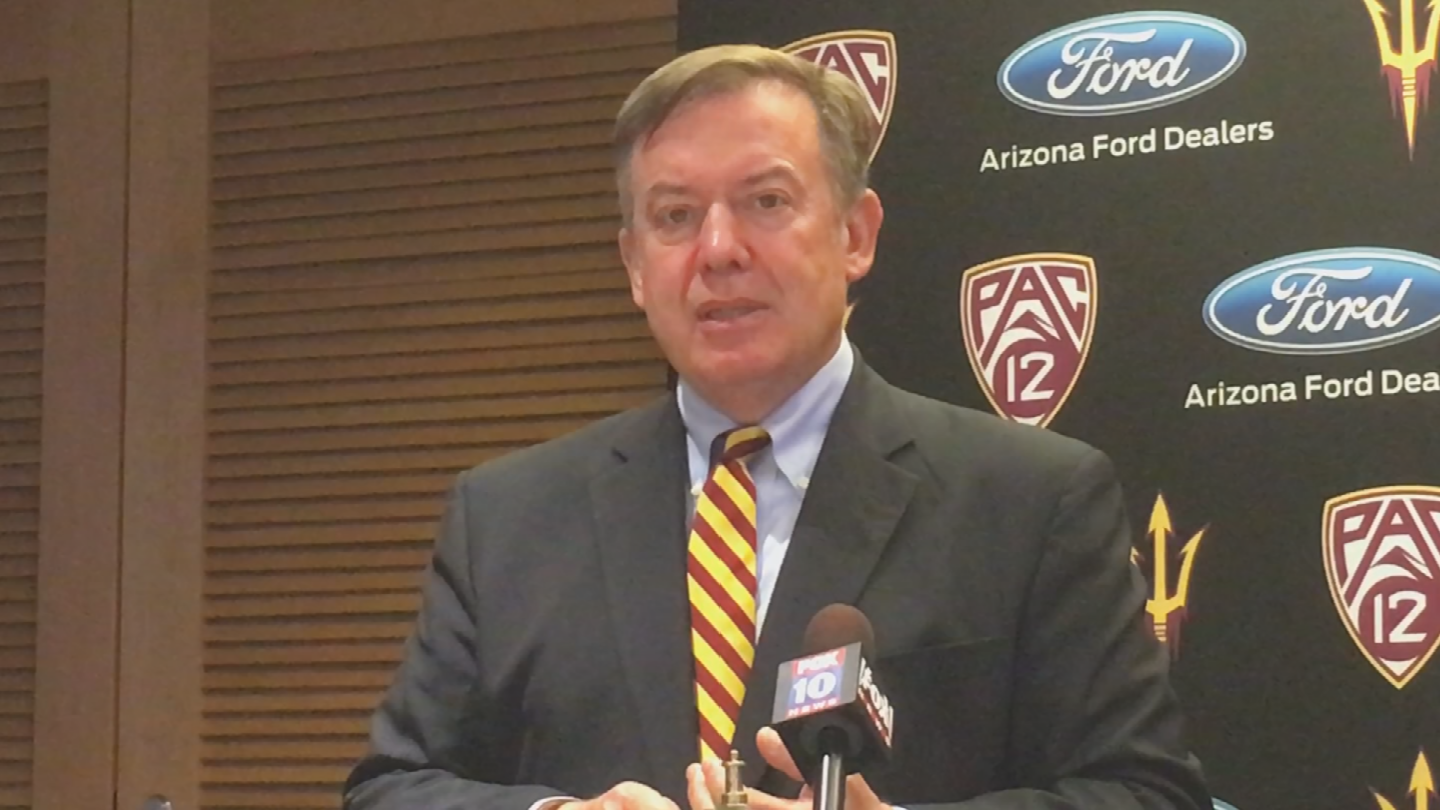 On Sunday, ASU President Michael Crow released a statement concerning the president's decision on DACA. (Source: 3TV/CBS 5)