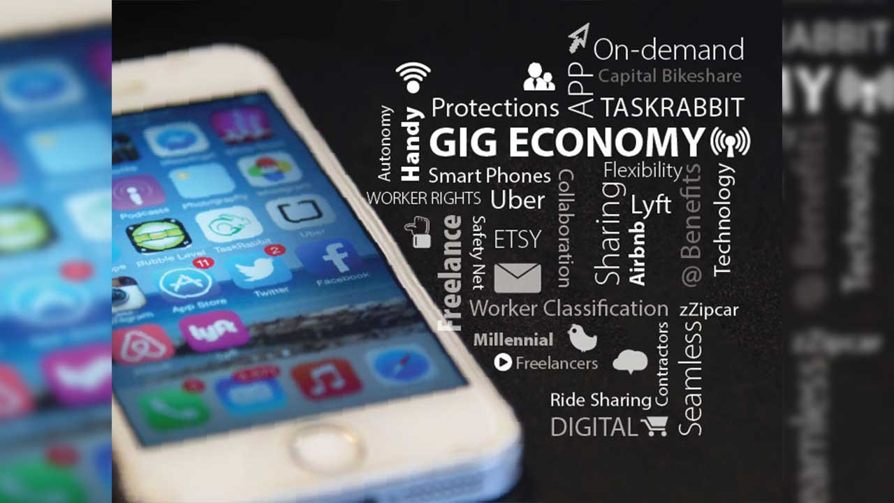 Experts agree the 'gig economy' is a rapidly growing part of the U.S. labor force, but solid numbers are hard to come by. (Source:  Mark Warner/Creative Commons)
