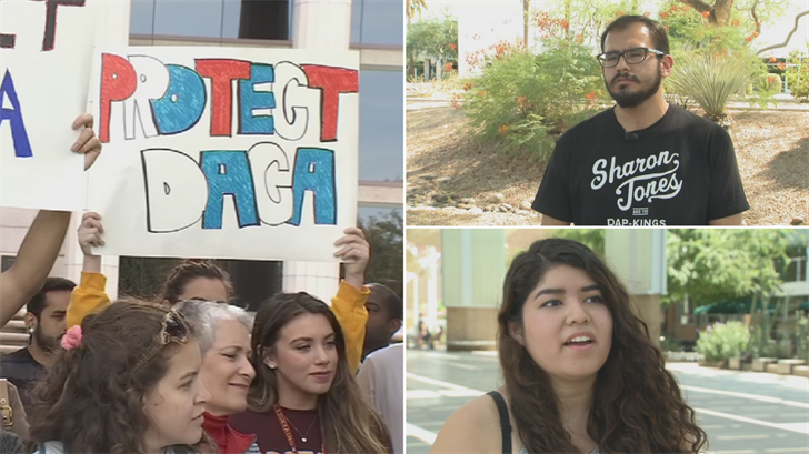 Some ASU students are concerns about the possibility of DACA ending. (Source: 3TV/CBS 5)