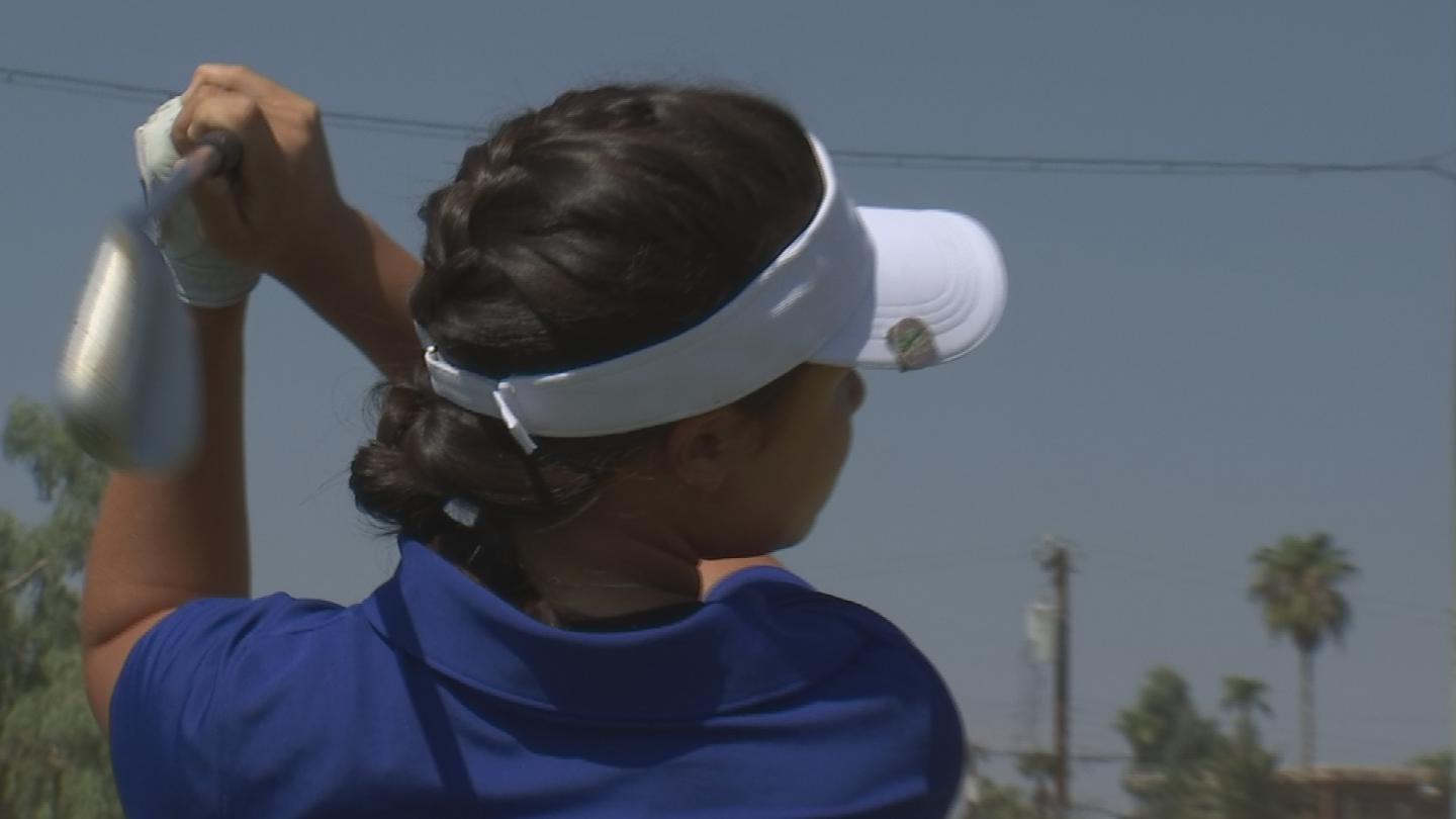 Ashley points out her next goal is a college scholarship, after getting a driver's license and trying to defend her state title. (Source: 3TV/CBS 5)