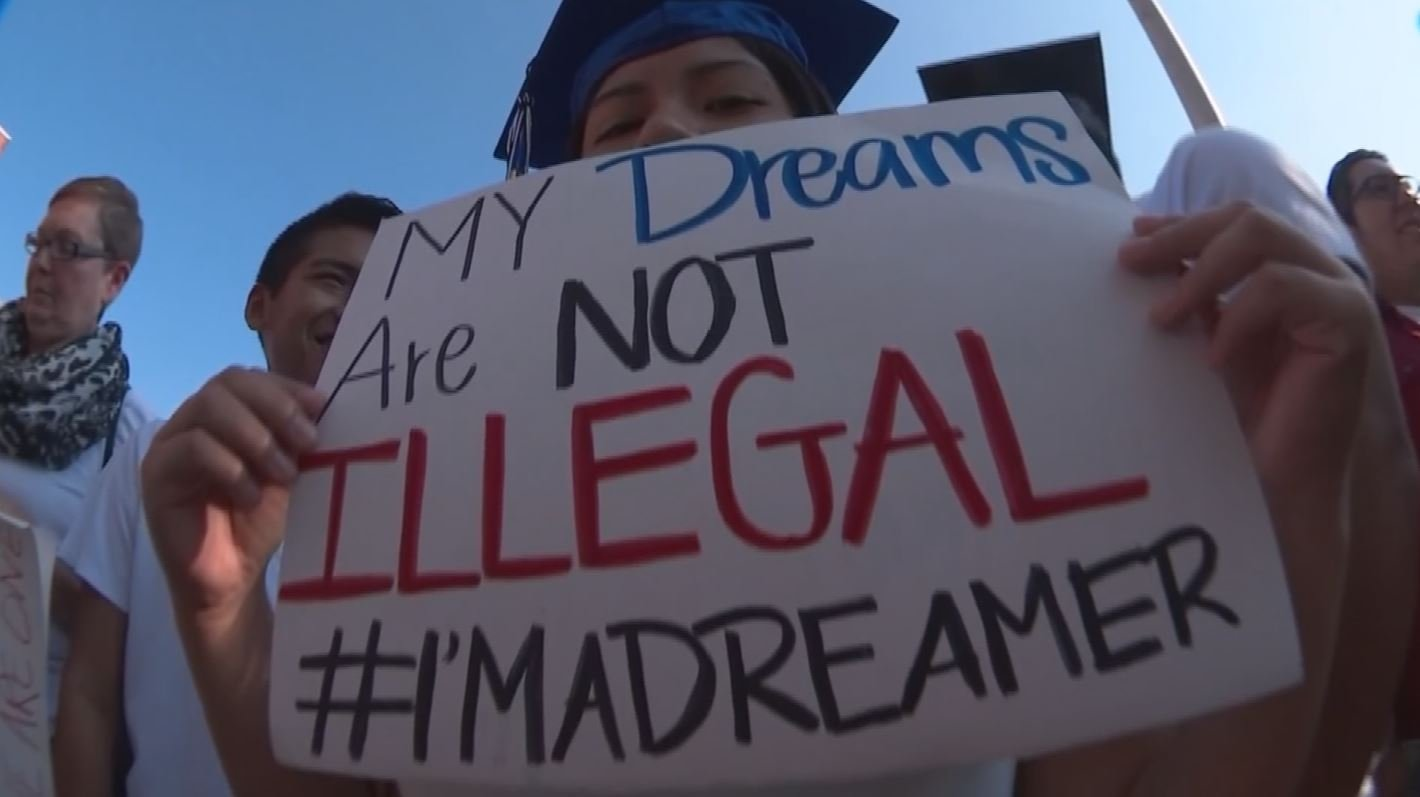 """Dreamers"" are worried what the future brings after Trump's decision to wind down DACA. (Source: 3TV/CBS 5)"