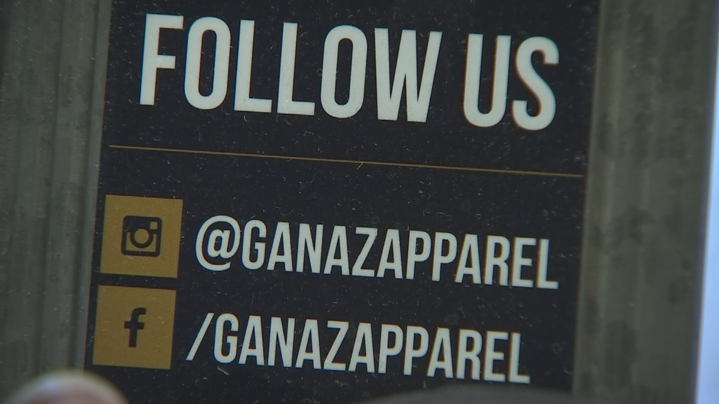 Maxima Guerrero and her friend started a clothing company called GANAZ. (Source: 3TV/CBS 5)