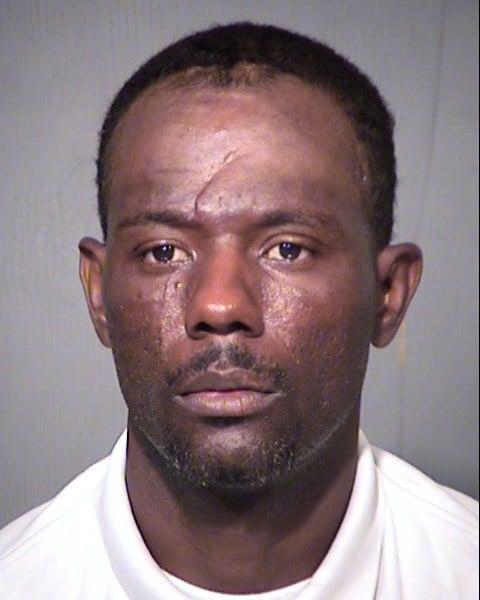 Mug shot of 38-year-old Barry Lee Morris, Jr. (Source: MCSO)