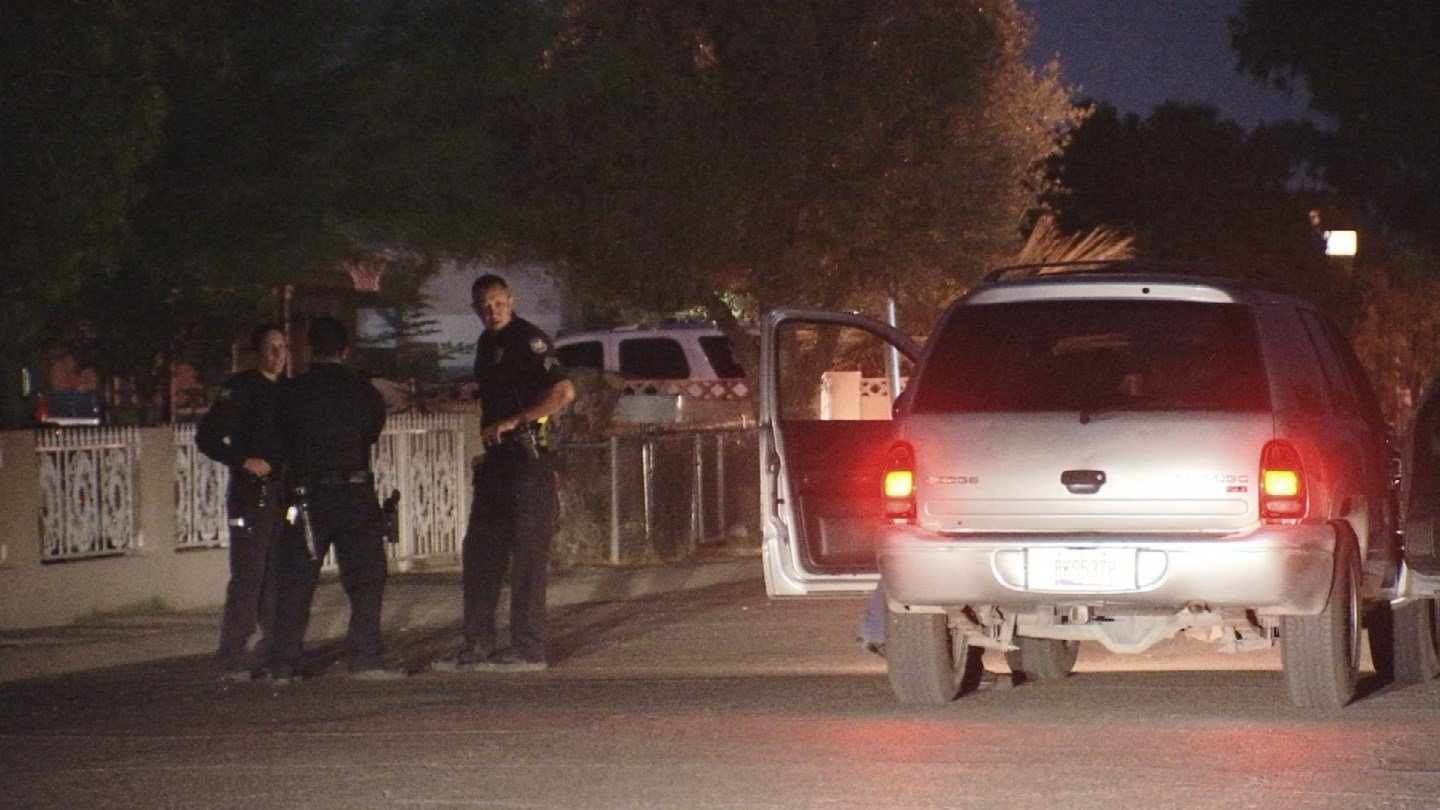 A man in his 70s is in serious condition after a car struck him in Phoenix early Wednesday morning. (Source: 3TV/CBS 5)