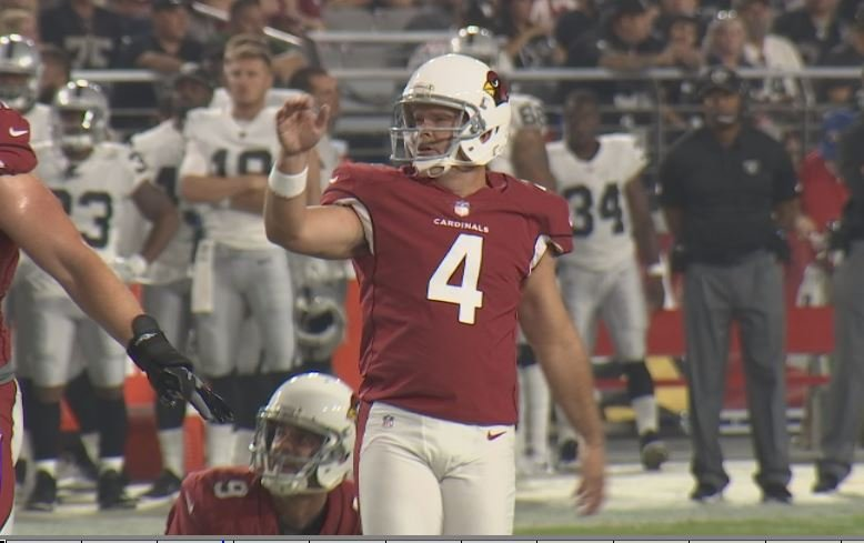 Cardinals kicker Phil Dawson is heading into his 19th NFL season. (Source: 3TV/CBS 5)
