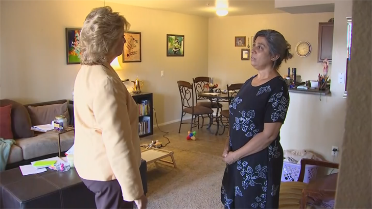 The lounge's mother, Layla Alden, is from Iraq and has been in the United States for more than three decades. (Source: 3TV/CBS 5)