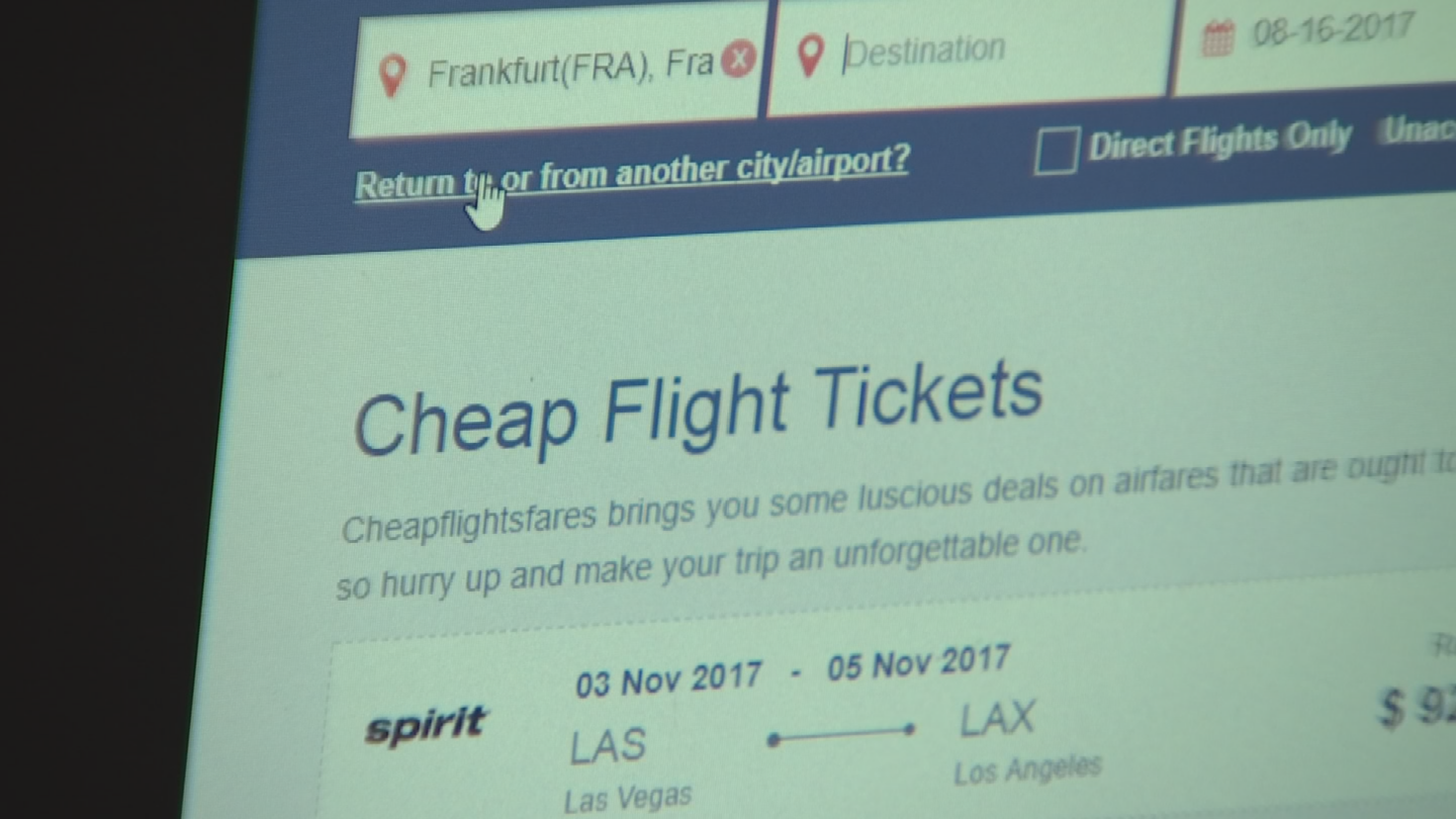 A Gilbert man ordered airlines tickets through a website and it turned out to be a nightmare. (Source: 3TV)