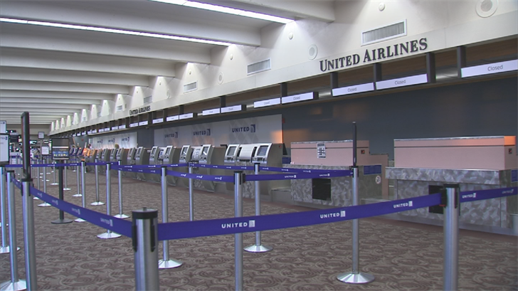 United has a strict policy of no minors being allowed to fly without an adult under a certain age limit. (Source: 3TV/CBS 5)