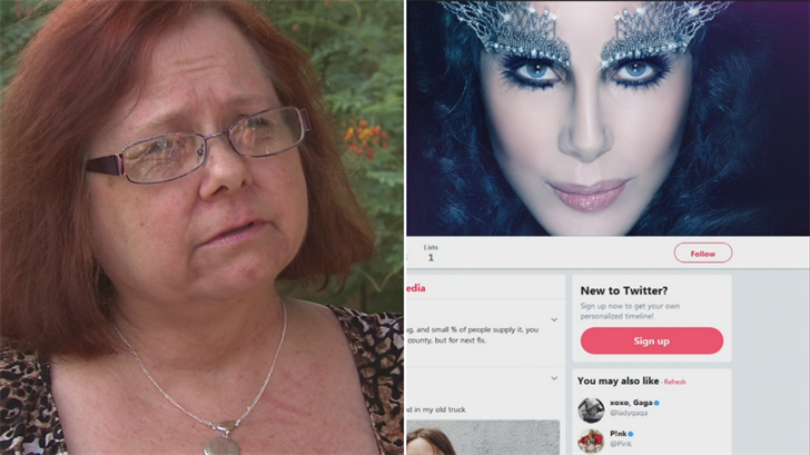 A Chandler mother criticized Cher on Twitter and ended up getting trolled. (Source: 3TV/CBS 5)