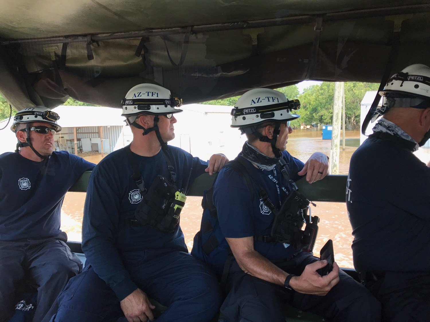 The task force went to Texas last month to provide help after Harvey. (Source: 3TV/CBS 5)