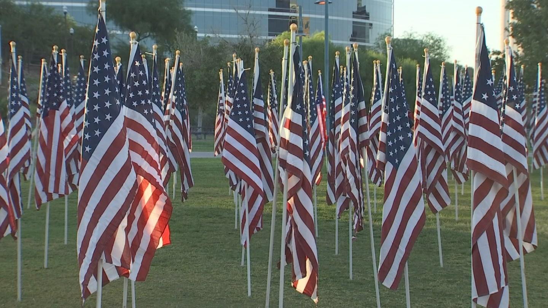 Tempe Healing Field 9/11 (Source: 3TV/CBS 5 file photo)
