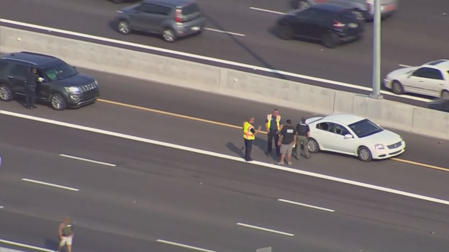 Rodriguez-Fregoso took his own life on the Loop 202 Red Mountain freeway. (Source: 3TV/CBS 5)
