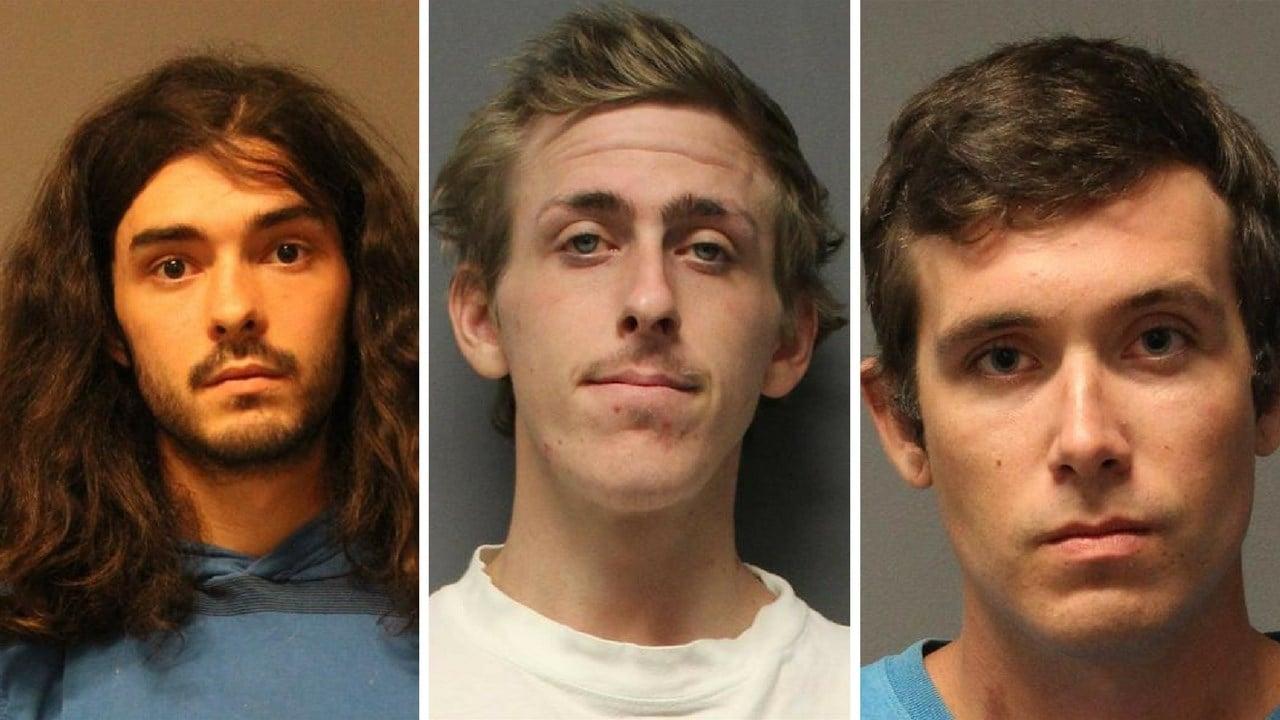 William Stockwell, 26 (left), Joshua Dawson, 25, Bradley Meyer, 22 (Source: Yavapai County Sheriff's Office)