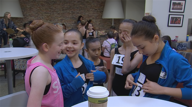 """Hundreds auditioned for """"The Nutcracker"""" on Sunday in Phoenix. (Source: 3TV/CBS 5)"""