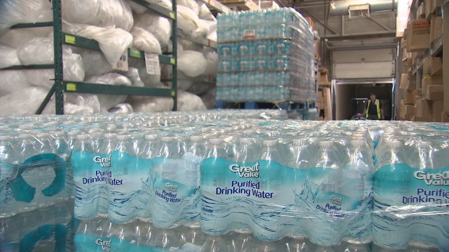 Chandler Kleese collected 34 tons of water for his Eagle Project (Source: 3TV/CBS 5)