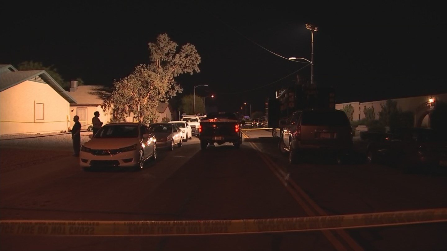 Officer involved shooting in Youngtown Sunday. (Source: 3TV/CBS 5)