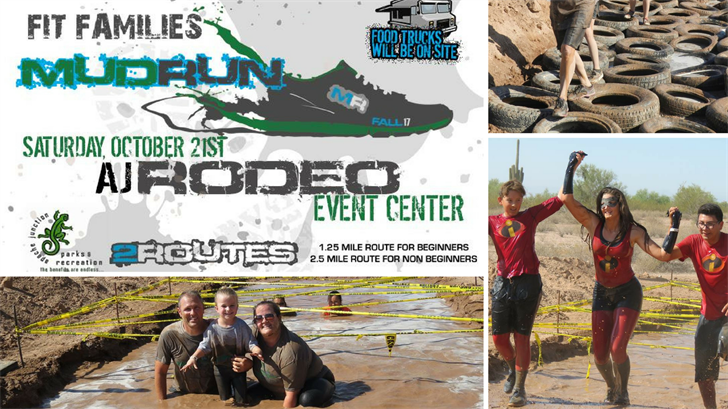 Apache Junction is hosting the Fit Families Mud Run. (Source: Facebook/ Apache Junction Parks & Recreation)