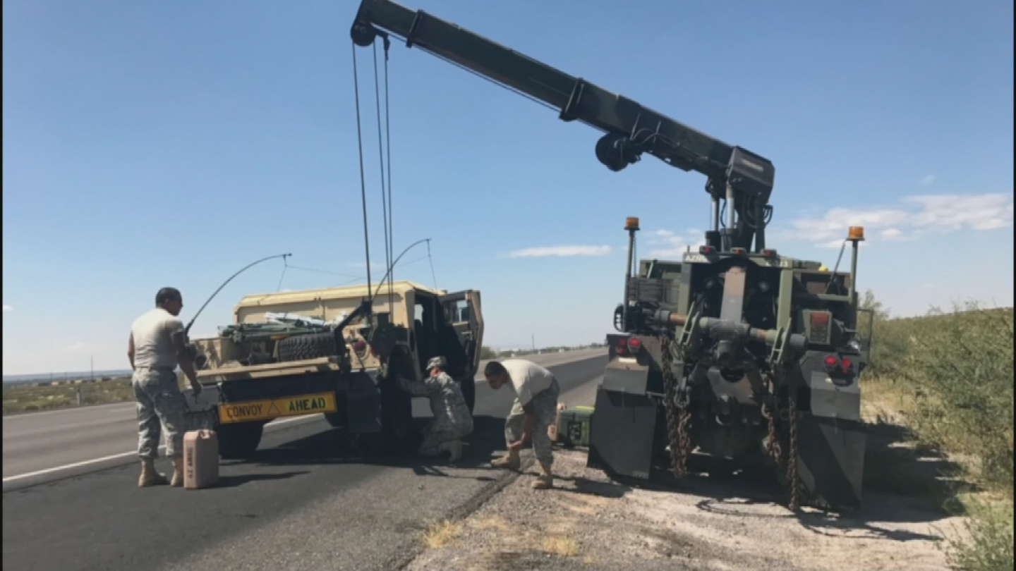 Their primary mission was to maintain and fix the vehicles, trucks and helicopters that were delivering supplies where they were needed. (Source: 3TV/CBS 5)