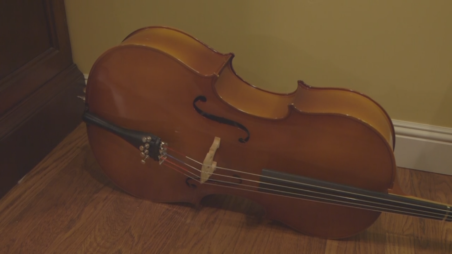 Dave Tokic got his cello insured. (Source: 3TV)