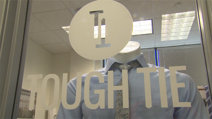 A couple of men in Mesa came up with Tough Tie, which creates ties that withstands every day use. (Source: 3TV/CBS 5)