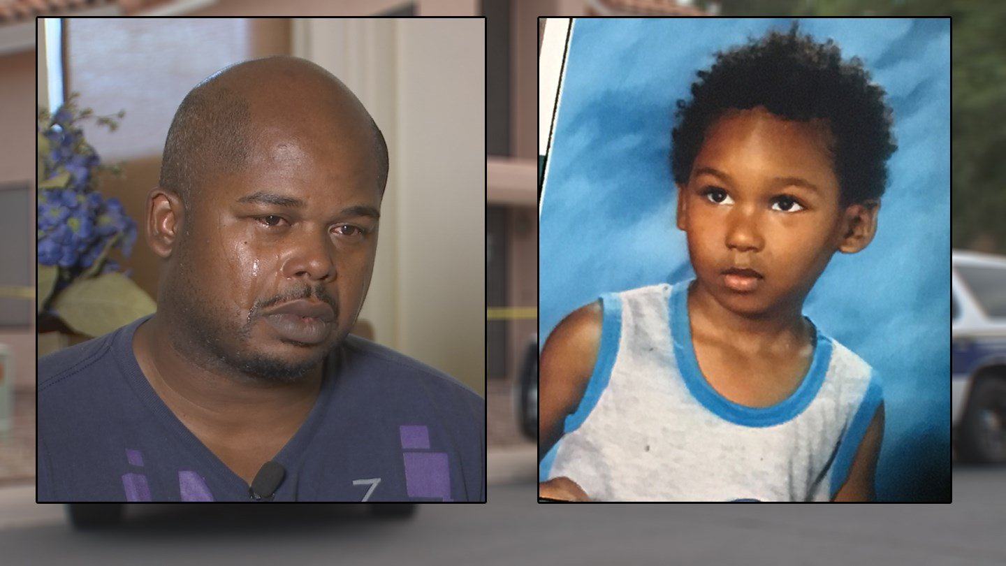 Donnelle Williams said he was at work when he got the call that his only son had drowned. (Source: Donnelle Williams/3TV/CBS 5)