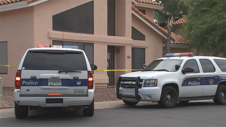 The drowning happened in north Phoenix on Saturday. (Source: 3TV/CBS 5)