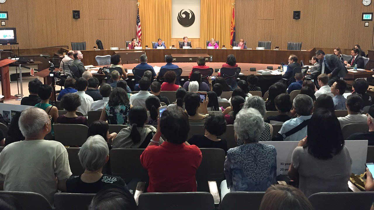 The Phoenix City Council members voted unanimously to move forward with a survey of the historical significance of the Chinese Cultural Center.(Source: 3TV/CBS 5)