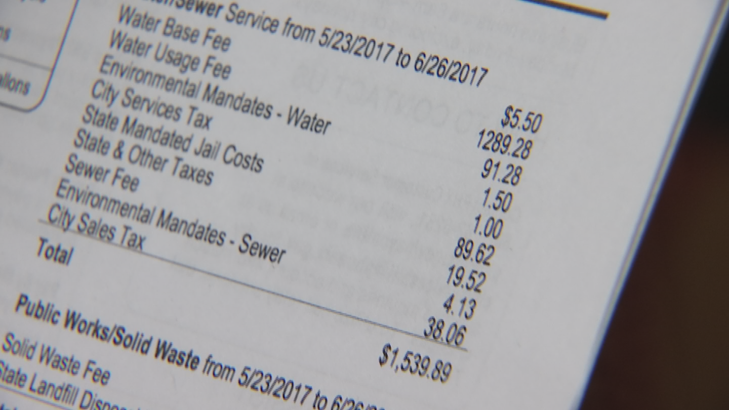 The City stood by its decision that her faulty irrigation system is most likely to blame for her $1,700 water bill. (Source: 3TV)