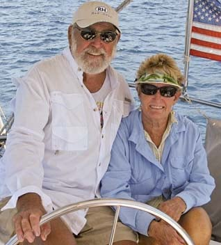Horton's sailing crew. (Source: Paul Horton)