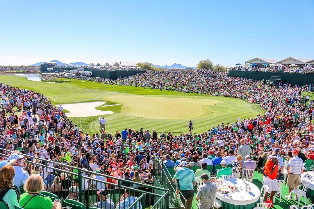 The Phoenix Open set an overall attendance record in 2017. (Source: Ian Schwartz)