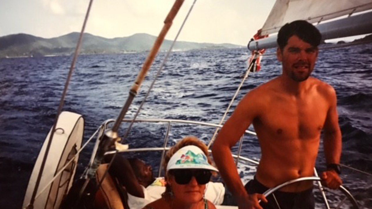 Paul Horton learned to sail on a beautiful boat and made many trips up and down the Caribbean Islands. (Source: Paul Horton)