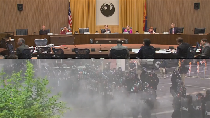 The Phoenix City Council decided to continue researching the possibility of having a civilian oversight board for the police department. (Source: 3TV/CBS 5)