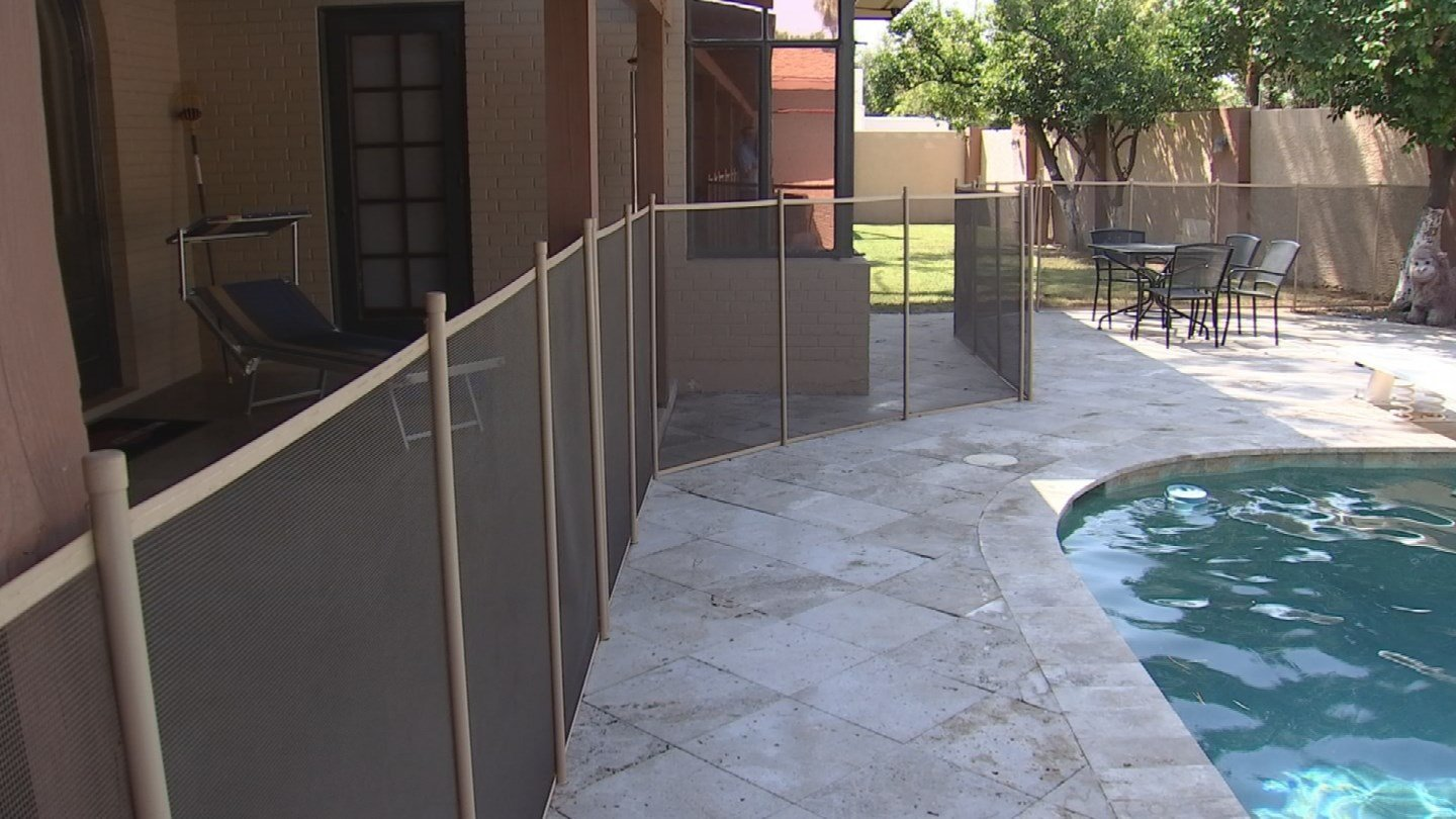 Arizona Pool Fence gives away a free fence a month to families who need it. It's part of his dedication to lessening the number of child drownings problem in Arizona. (Source: 3TV/CBS 5)