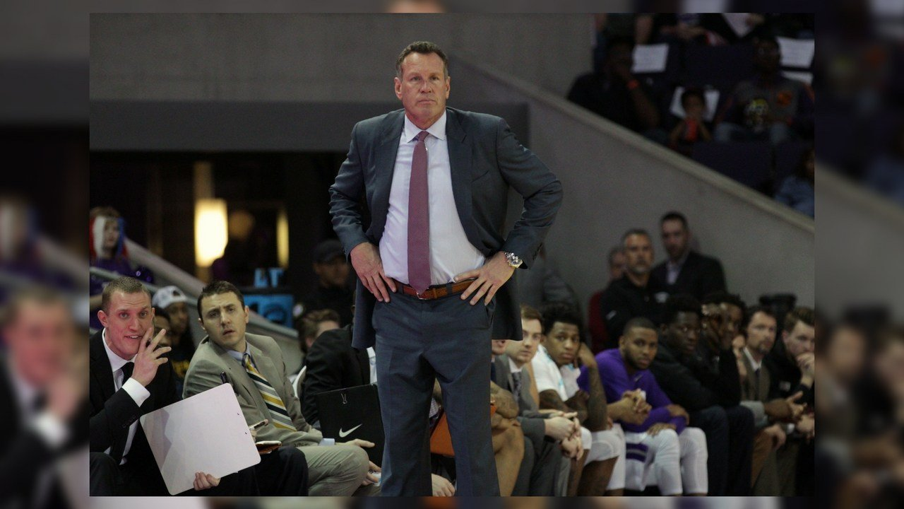 Dan Majerle's Grand Canyon basketball team won't be playing any Pac-12 teams this season. (Source: Cronkite News)