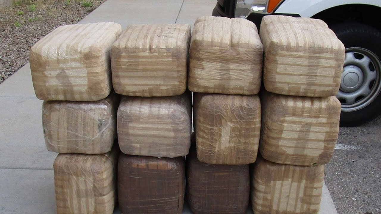 The 31-year-old driver and 24-year-old passeng  nearly 300 pounds of marijuana valued at almost $150,000 (Source: 3TV/CBS 5)