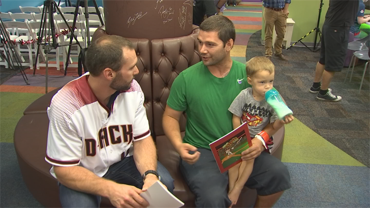 Goldy's Fund for Kids helps support Phoenix's Children's Hospital Center for Cancer and Blood Disorders. (Source: 3TV/CBS 5)