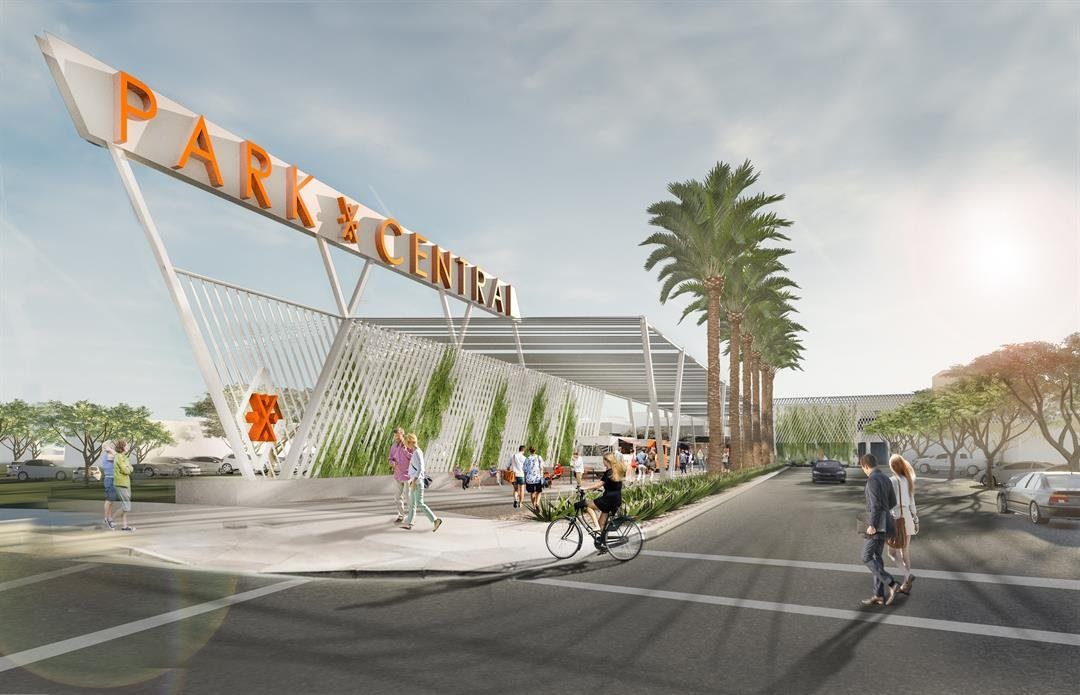 The plan is to turn the mall into a creative working environment with a lot more office space. (Source: Plaza Companies)