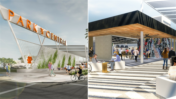 Park Central in central Phoenix is about to get a makeover. (Source: Plaza Companies)