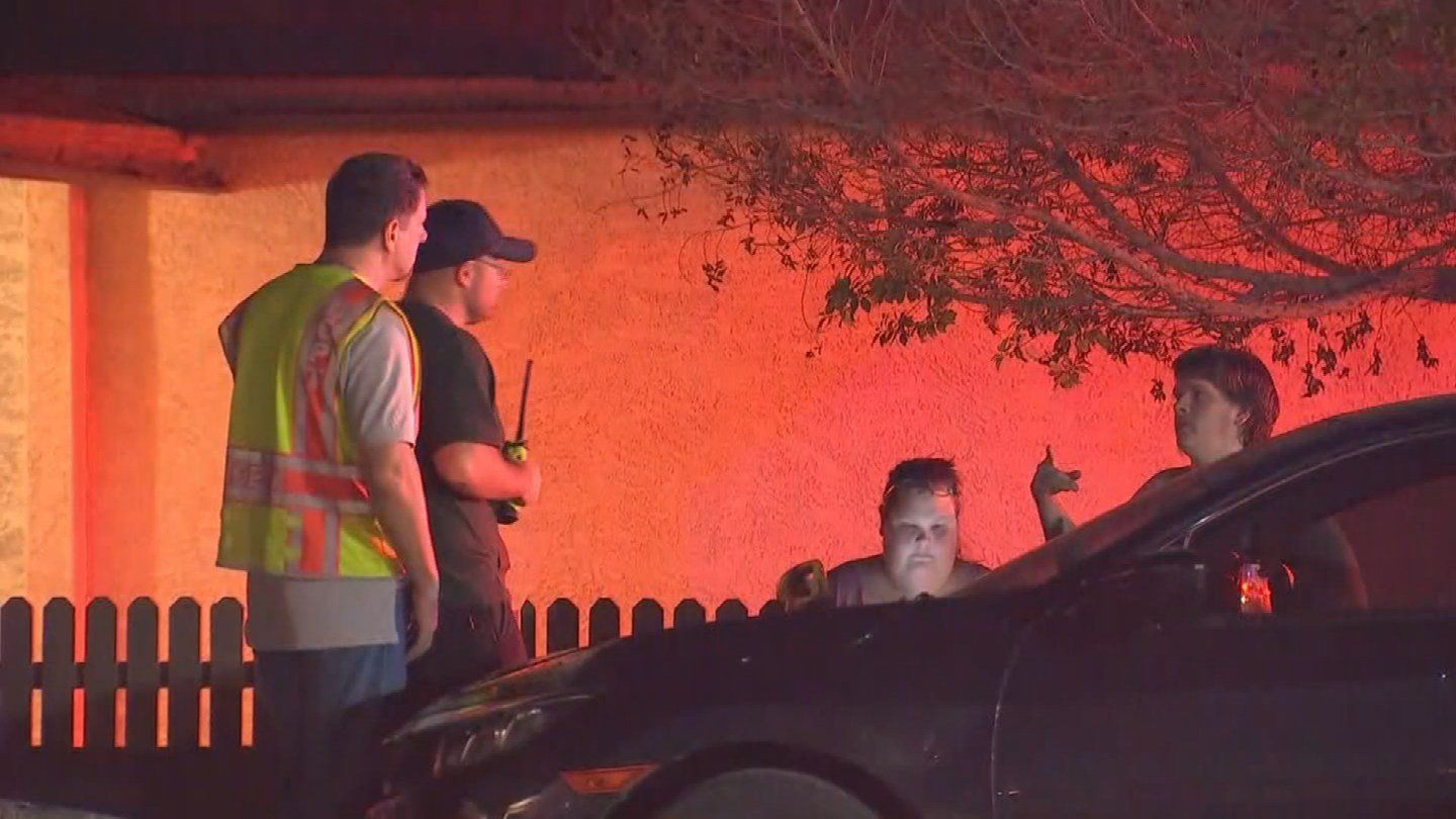 Crews arrived on scene to a working fire with several family members already outside of the home screaming that their grandmother was still inside. (Source: 3TV/CBS 5)