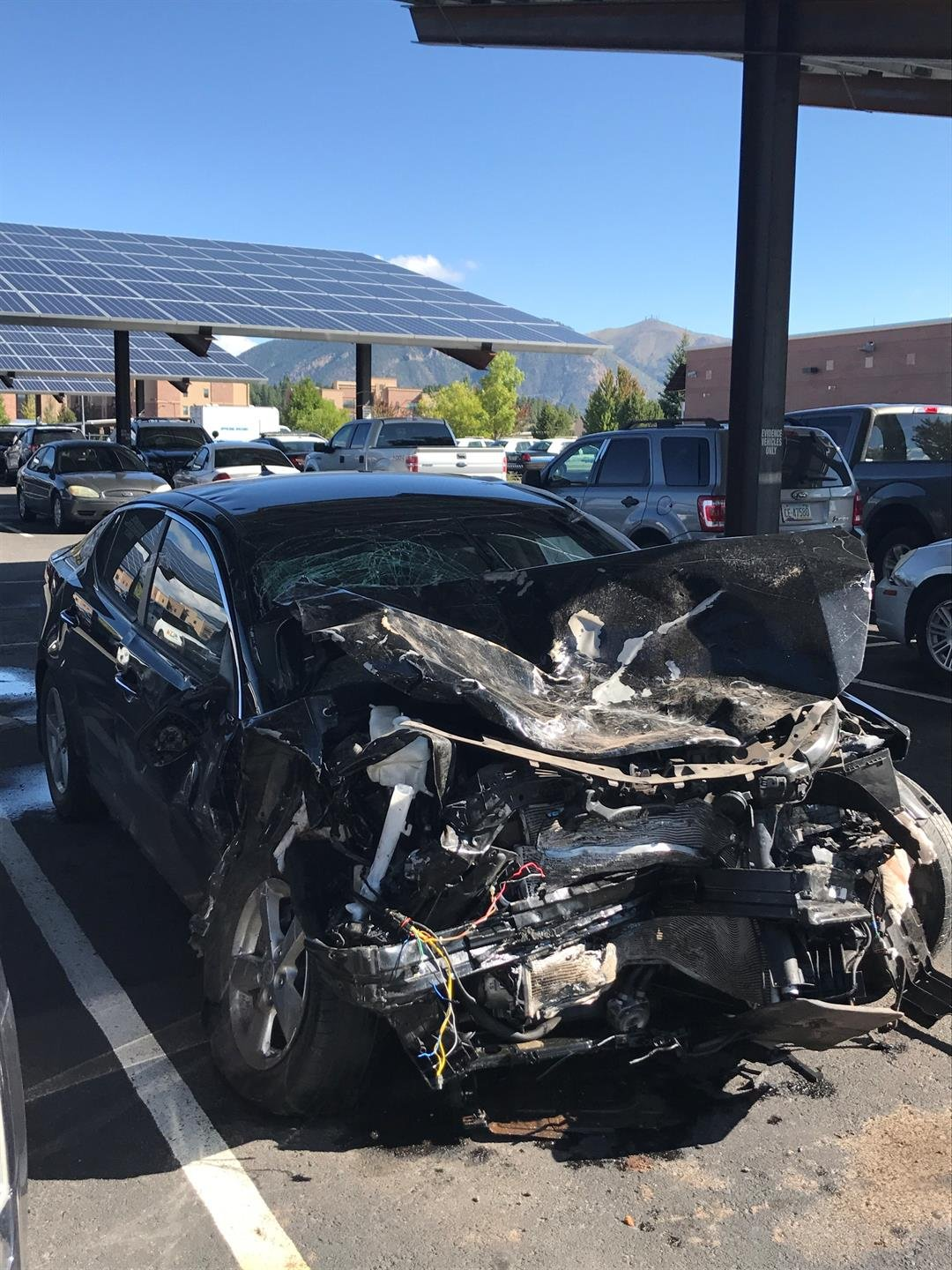 Police said Whiterock crashed into two other vehicles. (Source: Flagstaff Police Department)