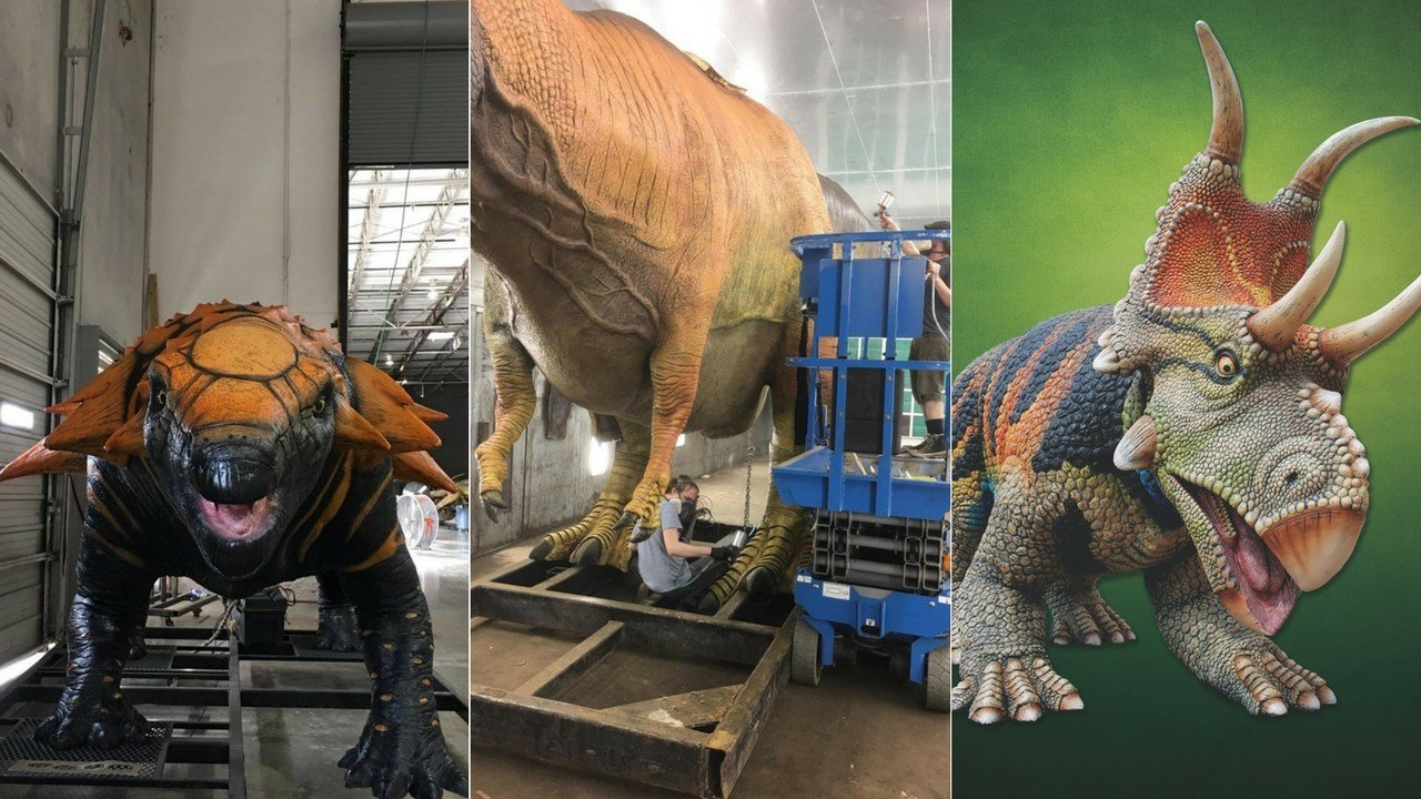 """Dinosaurs in the Desert"" is descending on the Phoenix Zoo in early October and will offer guests an unforgettable up-close experience with 23 prehistoric creatures. (Source: 3TV/CBS 5)"