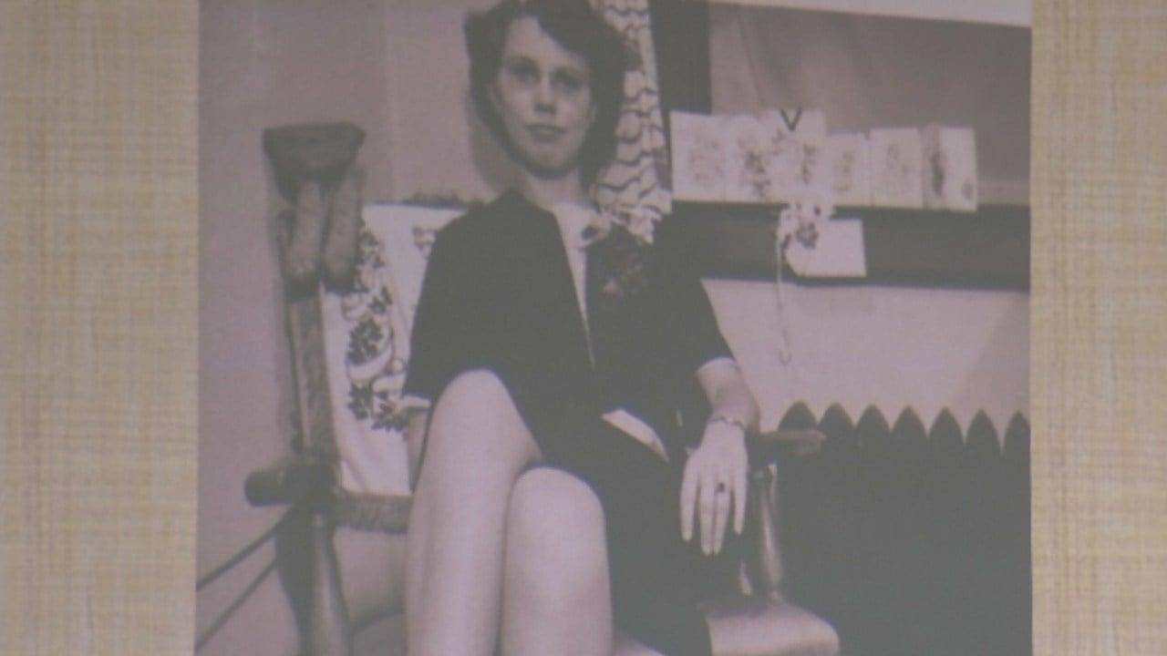Slideshow photo of Betty Huerstel's 25th birthday, 75 years ago.(Source: 3TV/CBS 5)