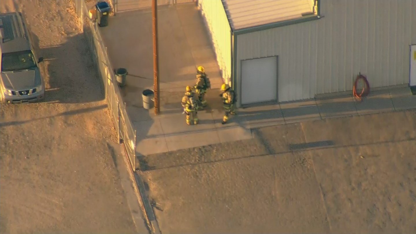An ammonia leak has led to evacuations in Tolleson early Monday morning, according to Chief George Good with Tolleson fire. (Source: 3TV/CBS 5)