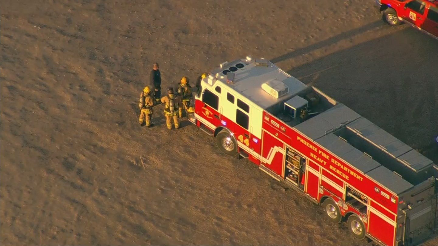 Several crews were dispatched to Rousseau Farming for a hazmat situation just before 6:30 a.m. (Source: 3TV/CBS 5)