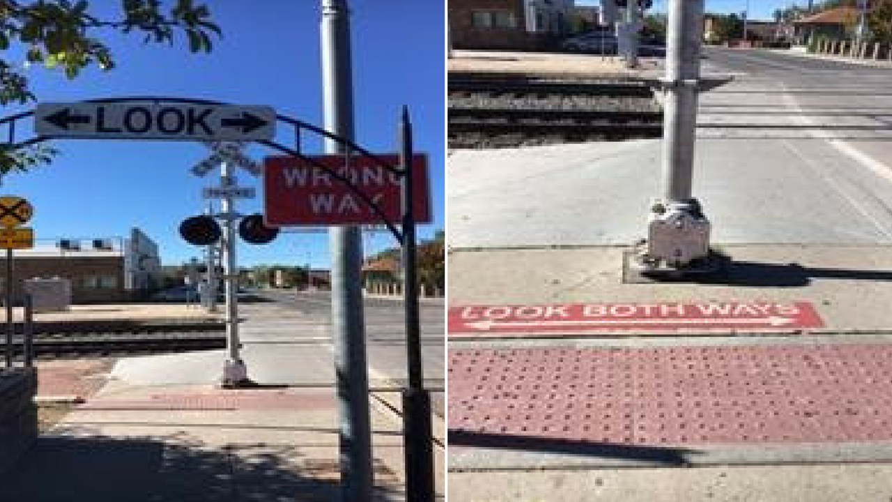 A pedestrian was struck and killed by a train early Monday morning.(Source: Flagstaff Police Department)