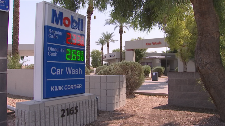 Gamalski says she asked employees at the gas station for their insurance information and for the name of the person who owned the car washbut claims the only thing they gave her was a hard time and phone number that did no good. (Source: 3TV)