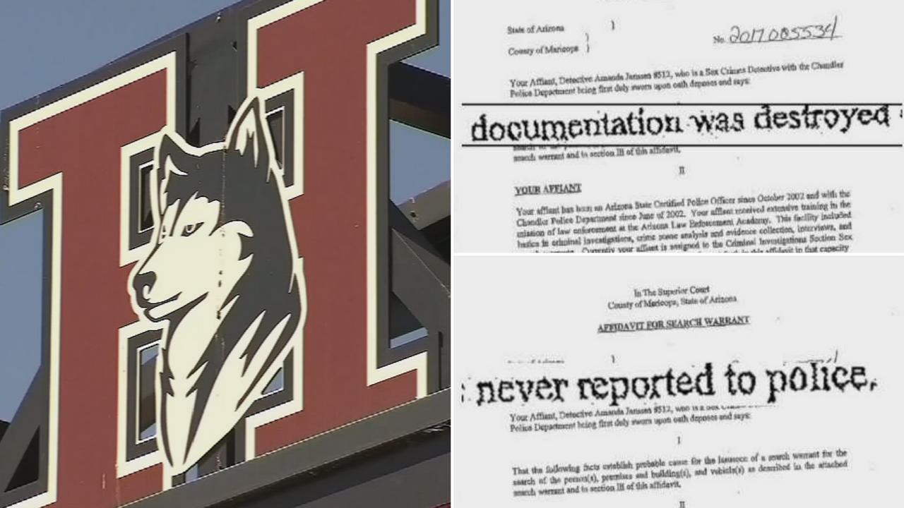 New police documents reveal police believe officials at Hamilton High School tried to cover up sexual assaults in the football program. (Source: 3TV/CBS 5)
