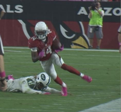 Nelson caught a key 45-yard touchdown in Sunday's win. (Source: 3TV/CBS 5)